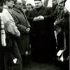 Баруны. Дэлегацыя з Менску ў а. Я.Матусевіча . 1989.11.12