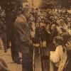 Мітынг студэнтаў медінстытуту ля будынку, дзе праходзіла сесія гарсавету. 1991