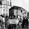 Пікет каля Дома Ўраду Таліне. 1990.05.15