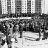 1989 год, перадвыбарчы мітынг БНФ у мікрараёне Паўднёвы Захад