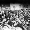 1989 год, перадвыбарчы мітынг БНФ у Мінску, у мікрараёне Паўднёвы Захад