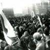 Пляц Леніна, мітынг