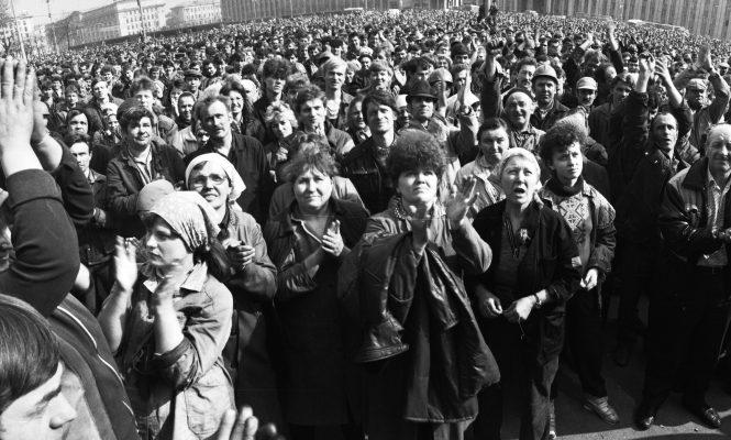 Мінск, красавік 1991 года, эканамічна-палітычныя пратэсты