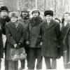 Каля помніка  М.Багдановічу на 90-я ўгодкі.