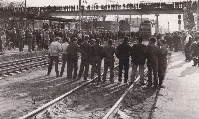 24 красавіка 1991 года – пачатак блакады чыгункі ў Оршы