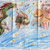 Малюнак Мікіты Дашкевіча, дасланы Алесю Бяляцкаму ў калонію, 2012 год
