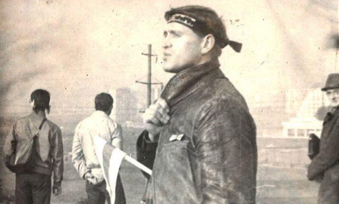 Паэт Анатоль Сыс, Дзяды, 1989 год