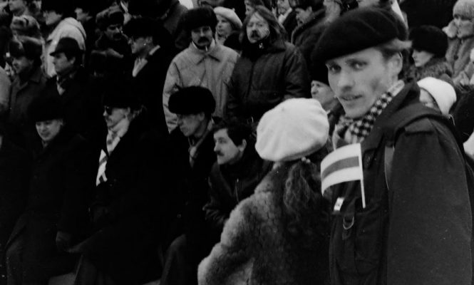 Сяргей Вітушка, 19 лютага 1989 год, Мінск, аўтар фота: Сяргей Чырык