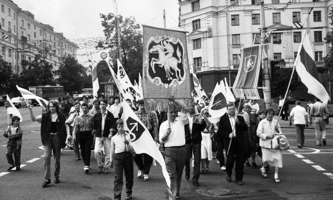 Мінск, 1993 год, Дзень беларускай вайсковай славы